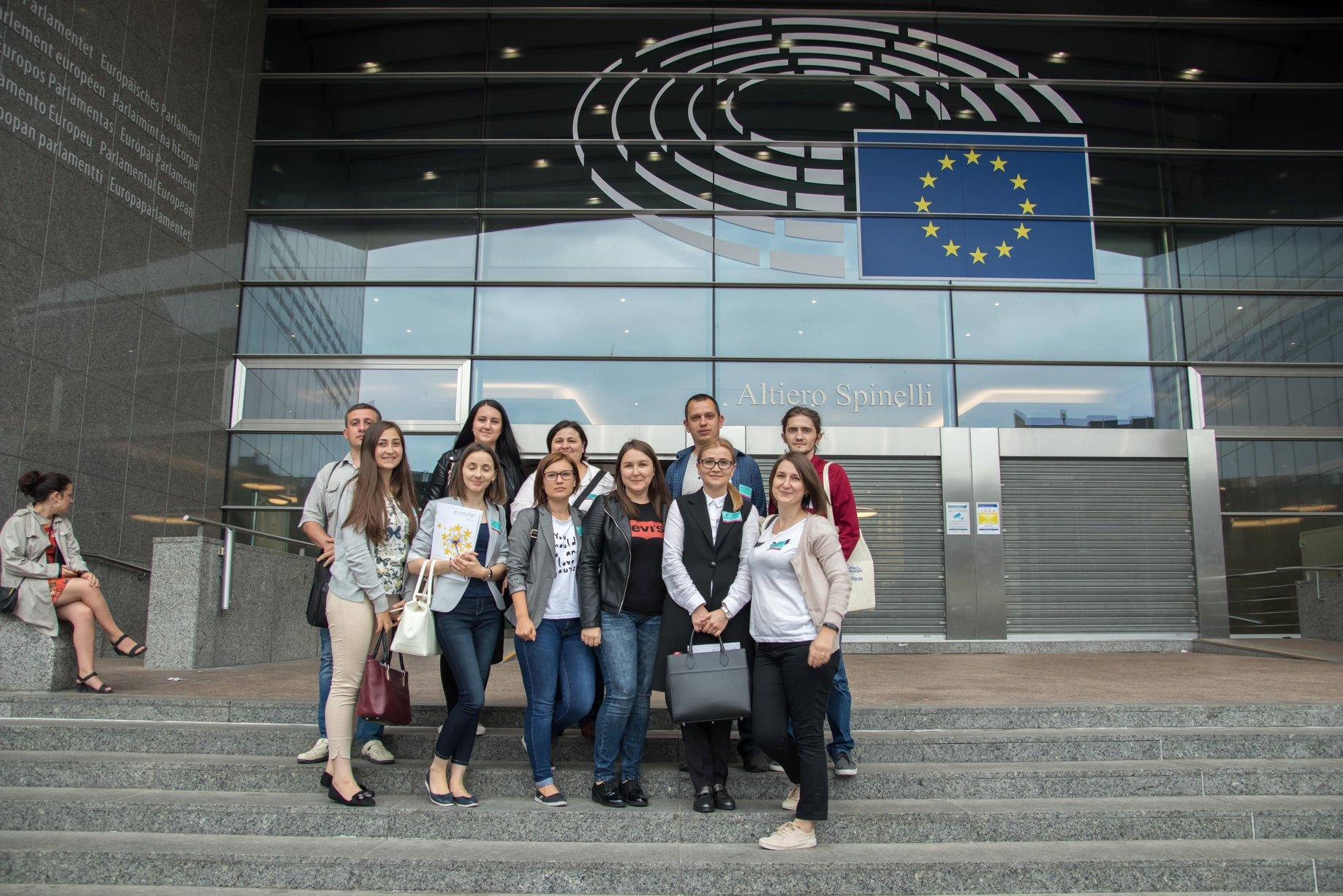 Vizita jurnaliștilor moldoveni la Bruxelles