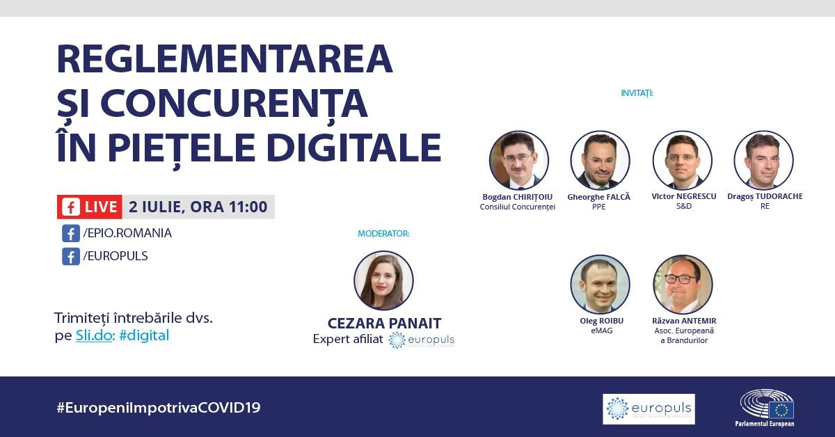 Reglementarea și concurența în piețele digitale