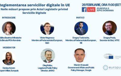Reglementarea serviciilor digitale în UE: Noile măsuri propuse prin Actul Legislativ privind Serviciile Digitale