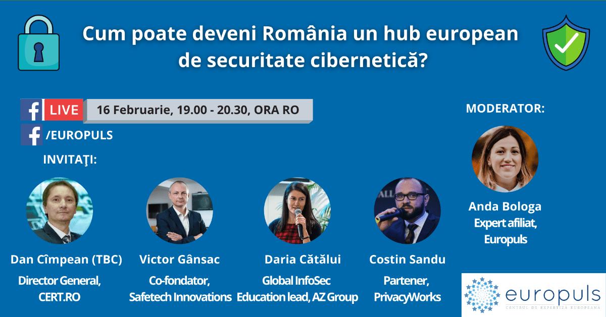 Cum poate deveni România un hub european de securitate cibernetică?