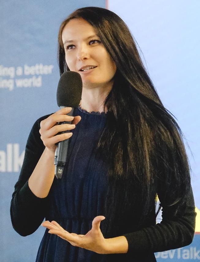 Veronica Ștefan - Co-fondator Digital Citizens Romania