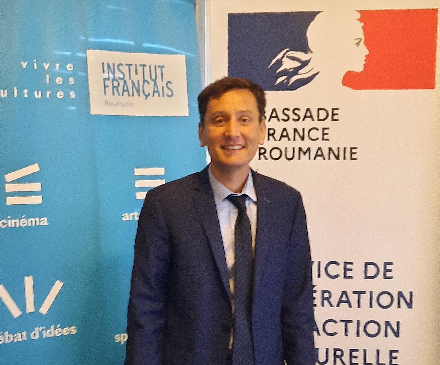 Joseph Giustiniani - Atașat de cooperare la Ambasada Franței în România și Director adjunct al Institutului Francez în România